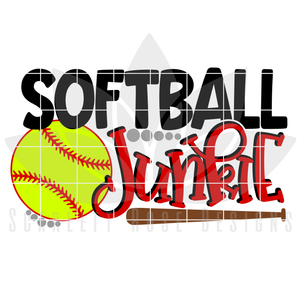 Sports, Softball Junkie SVG