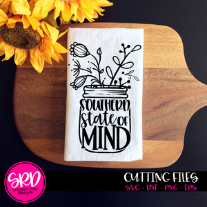 Southern State of Mind - Flowers SVG