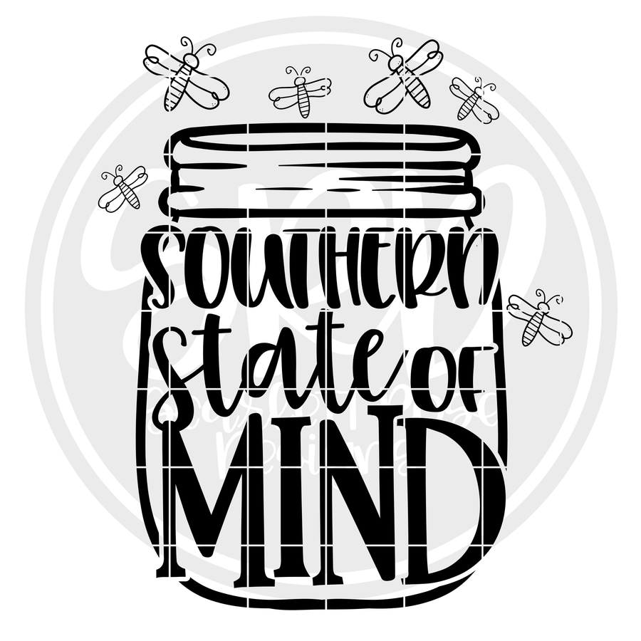 Southern State of Mind - Fireflies SVG