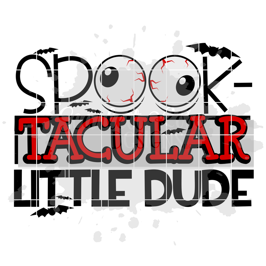Spook-Tacular Little Dude SVG