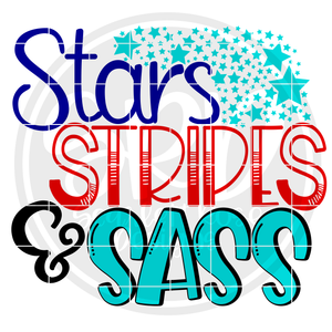 Stars Stripes & Sass SVG