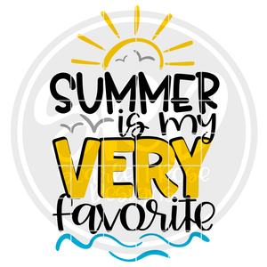 Summer is my Very Favorite SVG