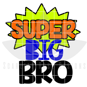 Super Big Brother SVG