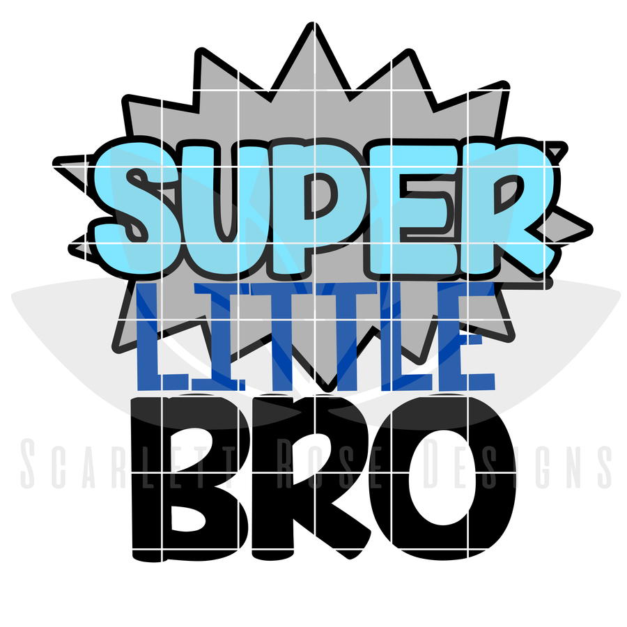Super Little Brother SVG