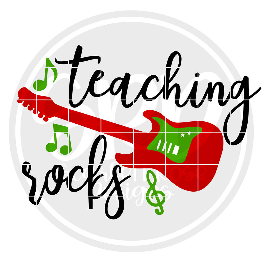 Teaching Rocks SVG