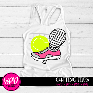 Tennis Gear SVG