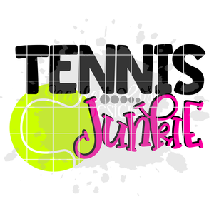 Tennis Junkie - Tennis SVG