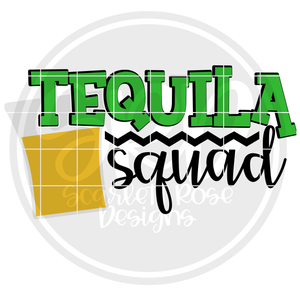 Tequila Squad SVG