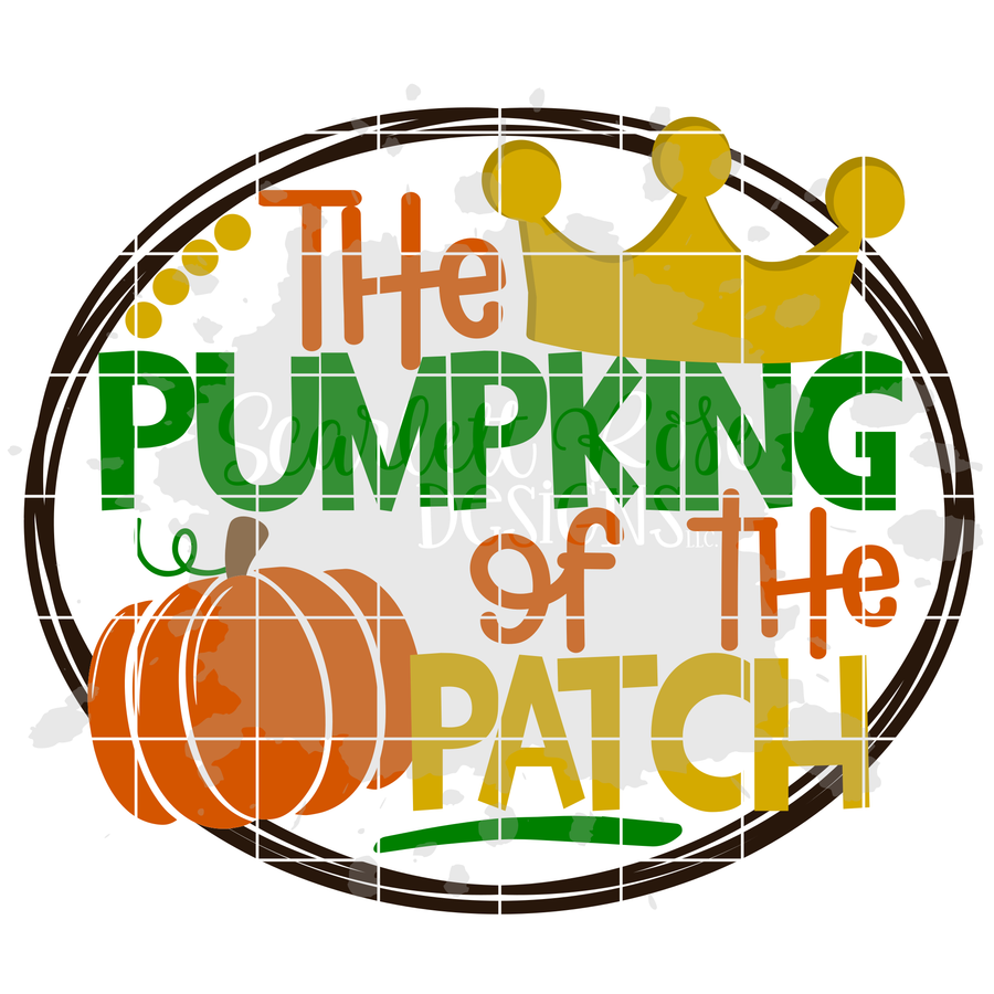 The Pumpking of the Patch SVG