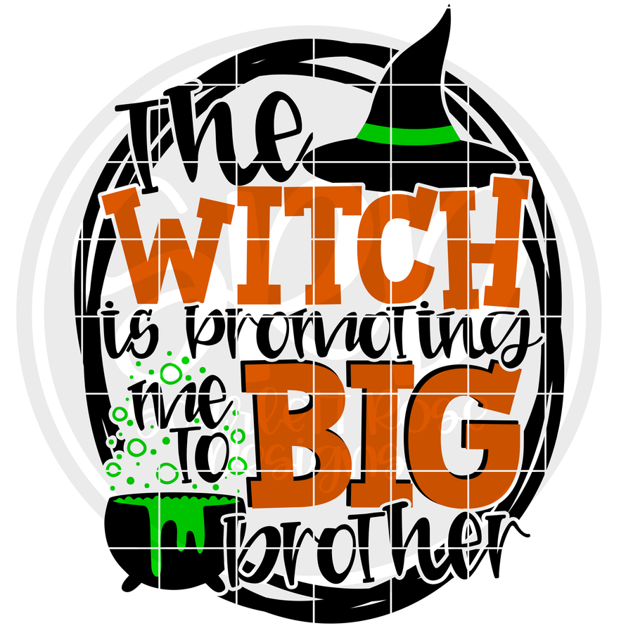 The Witch is Promoting Me to Big Brother SVG