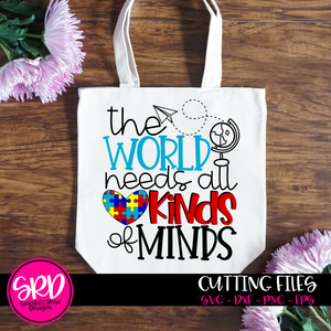 The World Needs All Kinds of Minds SVG