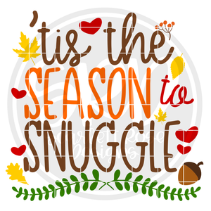 Tis the Season to Snuggle SVG