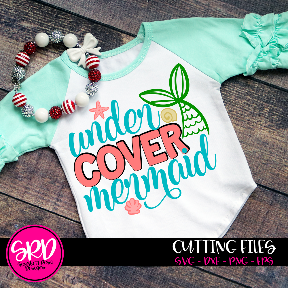 Under Cover Mermaid SVG