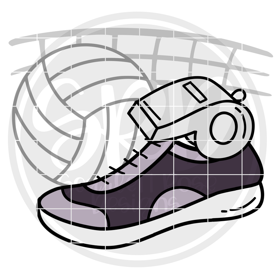 Volleyball Gear SVG