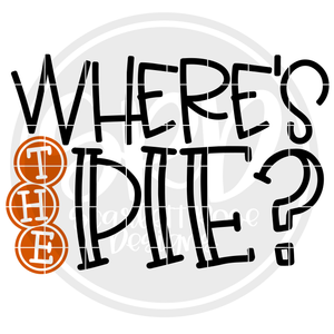 Where's the Pie SVG