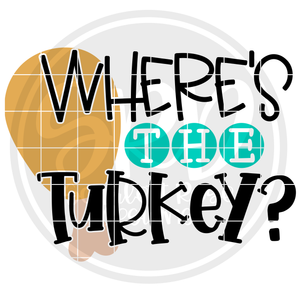 Where's the Turkey SVG