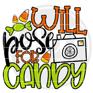 Will Pose for Candy SVG