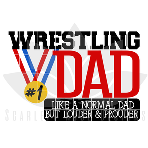 Wrestling Dad - Mom SVG SET
