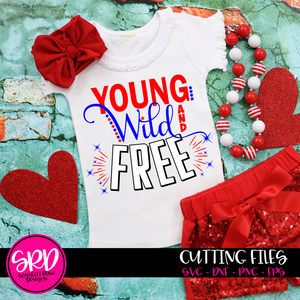 Young, Wild and Free SVG