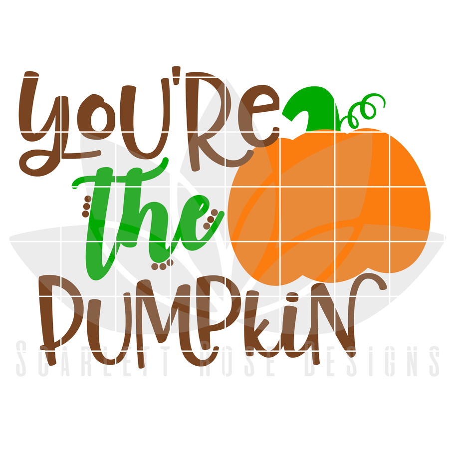 Thanksgiving SVG, You're the Pumpkin to my Spice, Mommy and Me cut file
