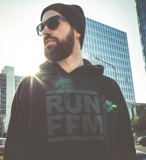 RUN FFM BLACK ON BLACK EDITION - Hoodie