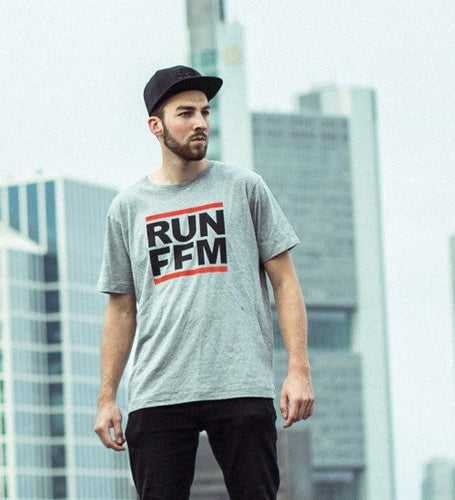 RUN FFM CLASSIC EDITION - T-Shirt - grau