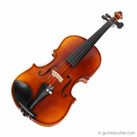Trevino V301 1/2 Full Solid Wood Violin with Case