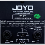 Joyo 212T 2x12 Speaker Cabinet with 2 Celestion G12T-75 - GuitarPusher
