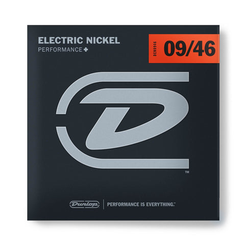 Dunlop Nickel Wound Hybrid Extra Light Electric Guitar Strings 9-46 (9 11 16 26 36 46) - GuitarPusher