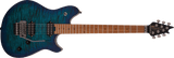 Wolfgang EVH WG QM (Quilted Maple) Standard Electric Guitar - Chlorine Burst