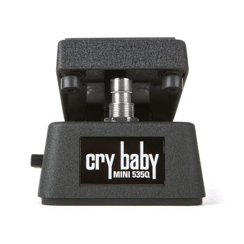 Dunlop 535Q Crybaby Mini Wah with adjustable Q and Boost