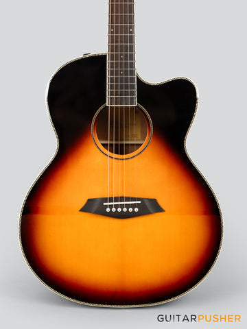 Sire A3 GS Grand Auditorium Acoustic Guitar w/ Zebra 7 SIB Pickup System