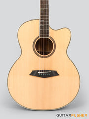 Sire A4 GS Grand Auditorium Acoustic Guitar w/ Zebra SIB 7 Pickup System