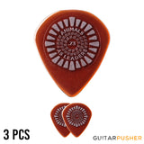 Dunlop AALP01 Animals As Leaders Primetone Brown Guitar Pick 3-pc Pack
