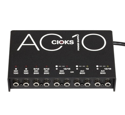 Cioks AC10 6 Isolated 4 AC 6 DC Output Power Supply 9/12/15/16/18V
