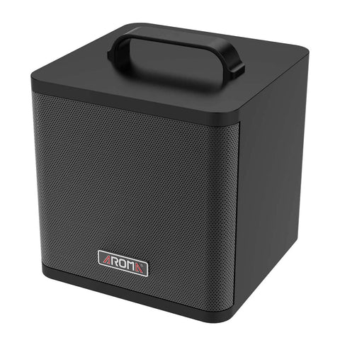Aroma AG-40A 40W Portable Acoustic Guitar Amplifier/Micro PA or Monitor (Black) with Built-in Rechargeable Battery and Bluetooth