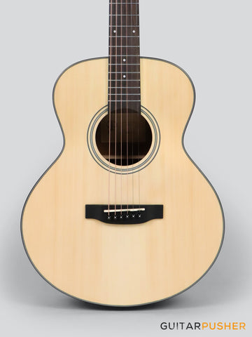 Phoebus Baby-30 v3 GS Spruce Top GS Mini (3rd Gen.) Travel Acoustic Guitar w/ Gig Bag - GuitarPusher