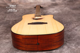 Tyma D-3C NSE (PG-50CE) Solid Top Dreadnought Acoustic-Electric Guitar with T-200 preamp
