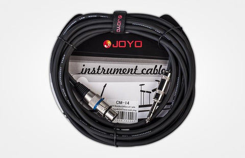 Joyo CM-14 15ft Microphone Cable XLR to PL Plug