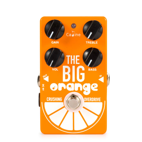 Caline CP-54 Big Orange Overdrive - GuitarPusher