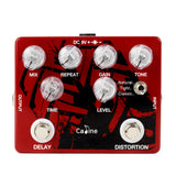 Caline CP-68 Analog Delay and Distortion Dual Pedal - GuitarPusher
