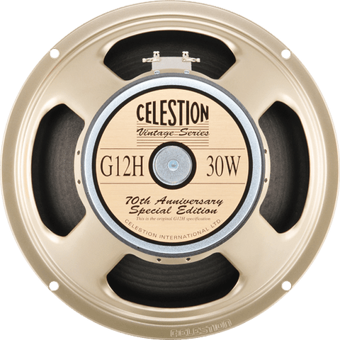"Celestion G12H Anniversary 30-watt 12"" Guitar Speaker Made in UK (T4534BWD)"
