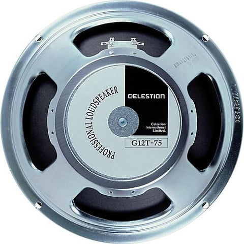 "Celestion G12T-75 12"" Electric Guitar Speaker 75watts - GuitarPusher"