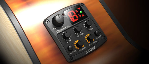 Cherub G-Tone GT-5 Acoustic Guitar Pickup System with