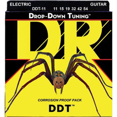 DR DDT Drop Down Tuning Electric Guitar Strings