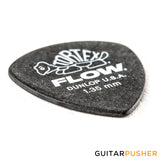 Dunlop Tortex Flow Guitar Pick 558R - 1.35mm Black