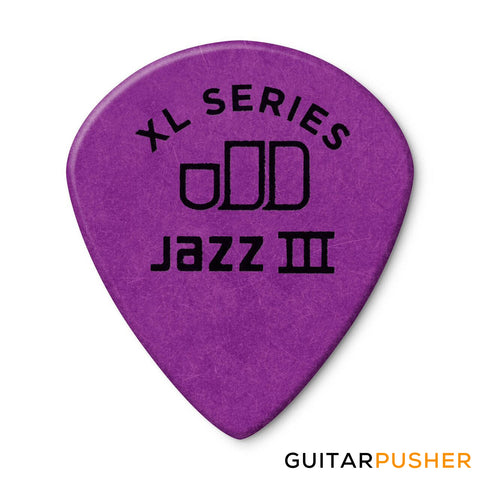 Dunlop Tortex Jazz III XL Guitar Pick 498R 1.14mm - Purple