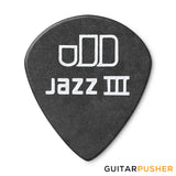 Dunlop Tortex Jazz III Pitch Black Guitar Pick 1.00mm