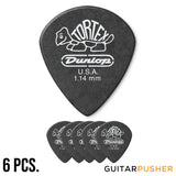 Dunlop Tortex Jazz III Pitch Black Guitar Pick 1.14mm