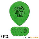 Dunlop Tortex Tear Drop Guitar Pick 413R - 0.88mm Green